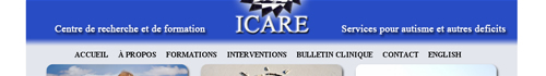 Centre ICARE - Centre ICARE - Services for autism and other deficits