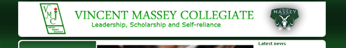 Vincent Massey Collegiate Logo